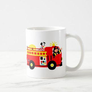 Fire Truck Classic White Coffee Mug
