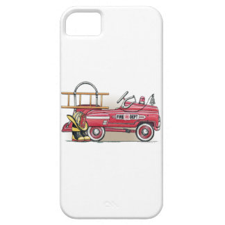 Fire Truck Pedal Car iPhone 5 Covers