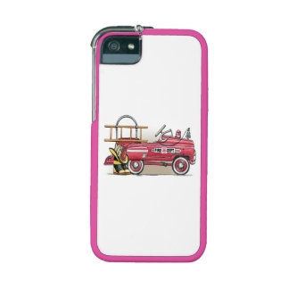 Fire Truck Pedal Car Case For iPhone 5/5S