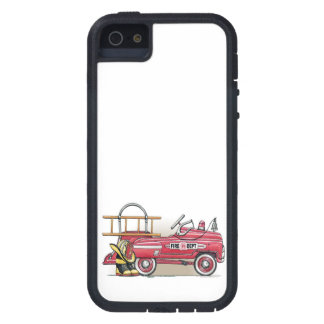 Fire Truck Pedal Car iPhone 5 Cover