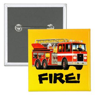 Fire Truck Pin