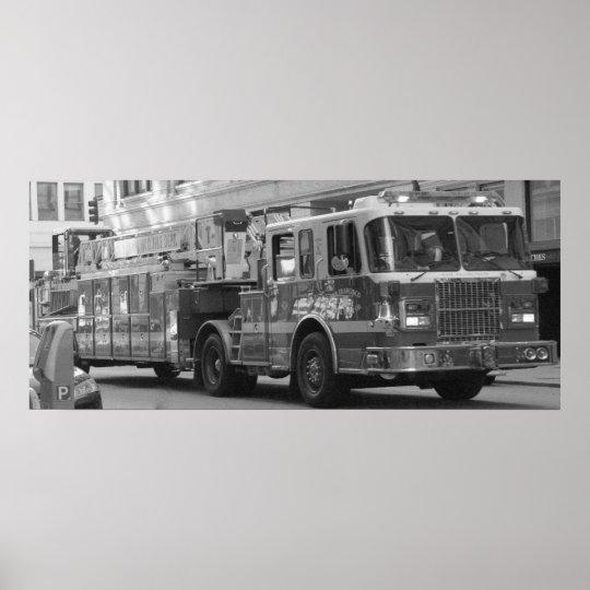 Fire Truck Poster