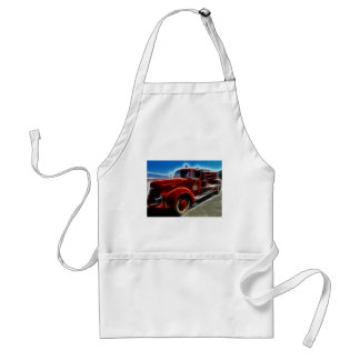 Fire Truck Red Hero Destiny Gifts Adult Apron