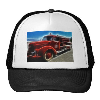 Fire Truck Red Hero Destiny Gifts Mesh Hat