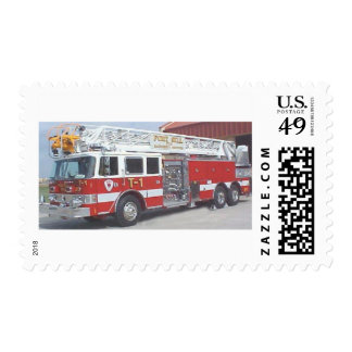 fire truck stamp