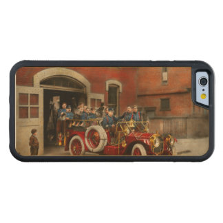 Fire Truck - The flying squadron 1911 Carved Maple iPhone 6 Bumper Case