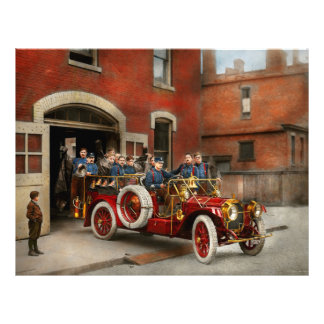 Fire Truck - The flying squadron 1911 Flyer