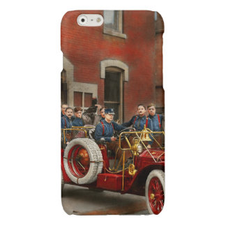 Fire Truck - The flying squadron 1911 Glossy iPhone 6 Case