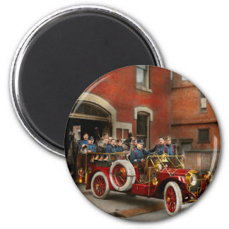 Fire Truck - The flying squadron 1911 Magnet