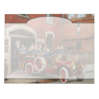 Fire Truck - The flying squadron 1911 Notepad
