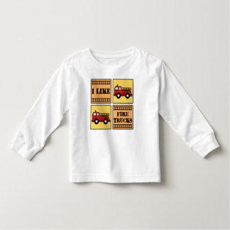Fire Truck Toddler T-shirt