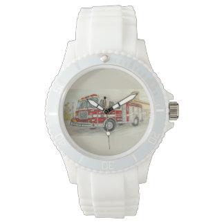 Fire Truck Wristwatch