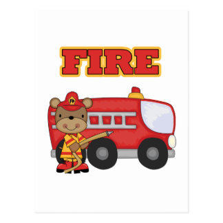 FIRE Tshirts and Gifts Postcard
