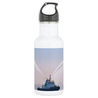 Fire Tug Welcome Water Bottle