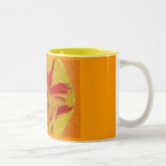 Fire Tulip Impressionist Mug