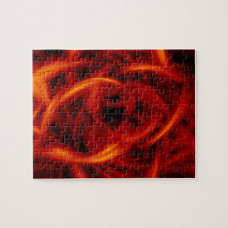 Fire Tunnel Jigsaw Puzzle
