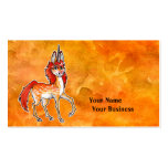Fire Unicorn Double-Sided Standard Business Cards (Pack Of 100)