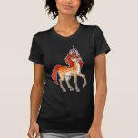 Fire Unicorn T Shirts