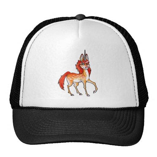 Fire Unicorn Trucker Hat