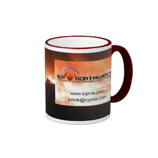 Fire up that Coffee in the field Ringer Coffee Mug
