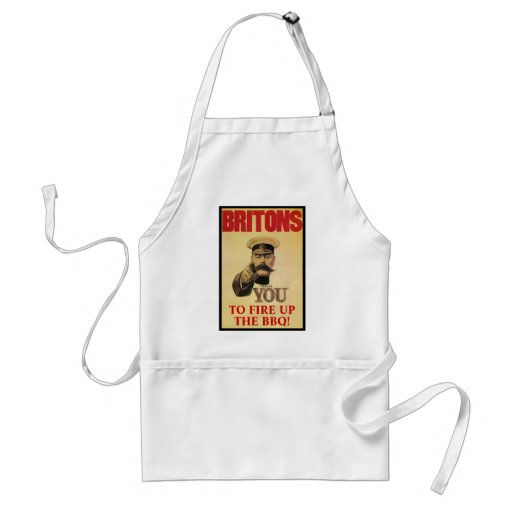 Fire Up The BBQ! Adult Apron
