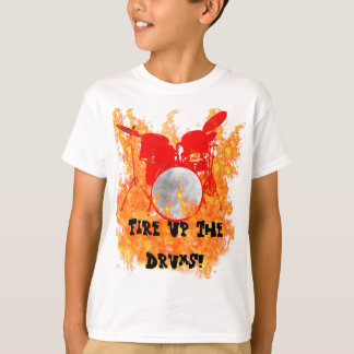 Fire Up The Drums Youth Shirt