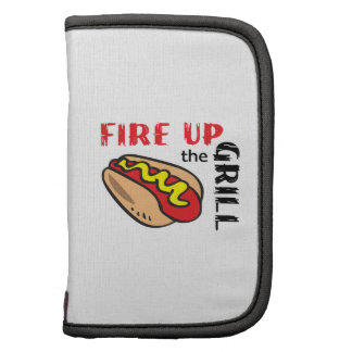FIRE UP THE GRILL FOLIO PLANNERS