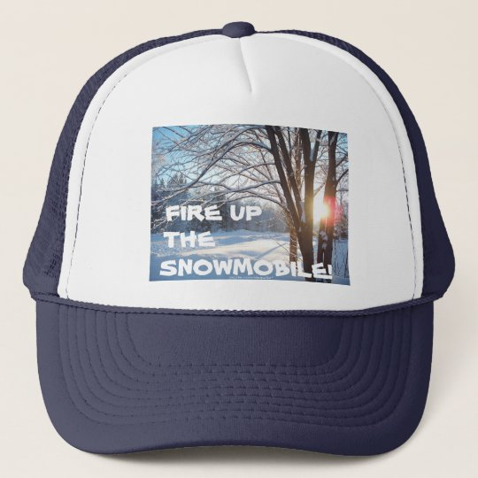 FIRE UP THE SNOWMOBILE! Winter Cap Design