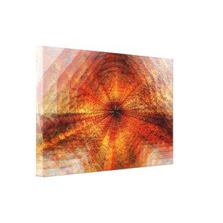 Fire Vortex Canvas Print