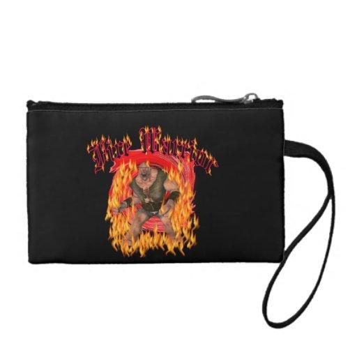 Fire Warrior Bag Change Purses