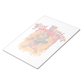Fire Warrior Notepad (2) sizes