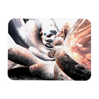 Fire Water Abstract Large Magnet