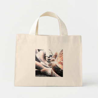 Fire Water Abstract Mini Tote Bag