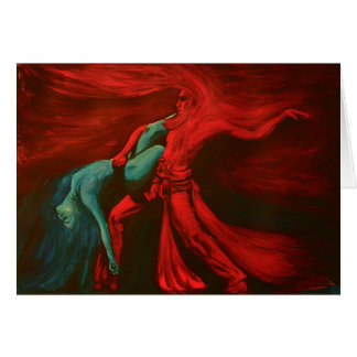 Fire & Water Sacred Dance .... Card