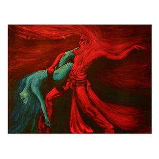 Fire & Water Sacred Dance .... Postcard