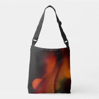 Fire Wave Crossbody Bag