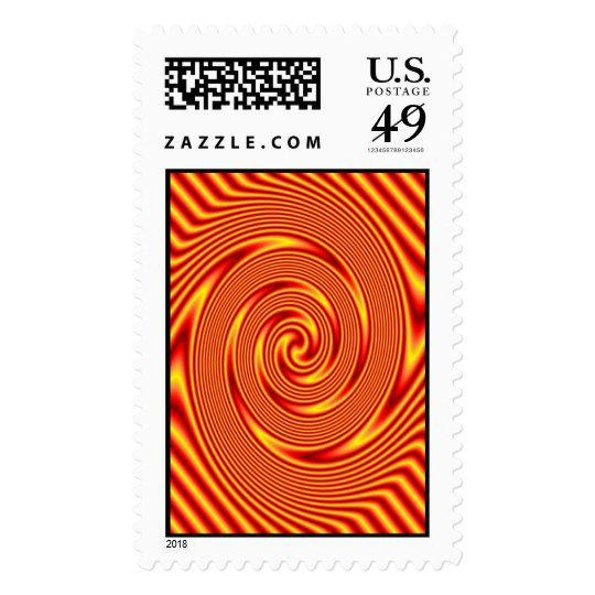 Fire Wave Postage