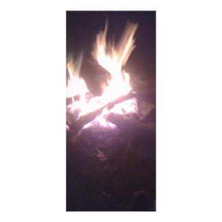 Fire wear rack card