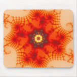 Fire Web - Fractal Art Mouse Pad
