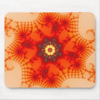 Fire Web - Fractal Art Mouse Pad