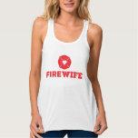 Fire Wife Flowy Racerback Tank Top