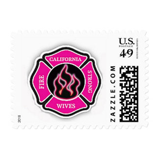 Fire Wife Strong Postage