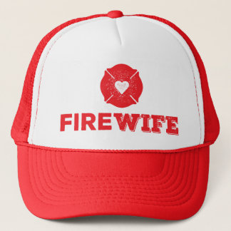 Fire Wife Trucker Hat