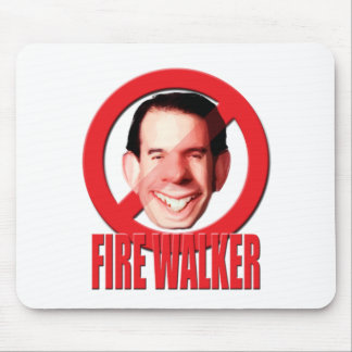 Fire Wisconsin Governor Scott Walker Mouse Pad