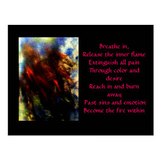 Fire Within Postcard