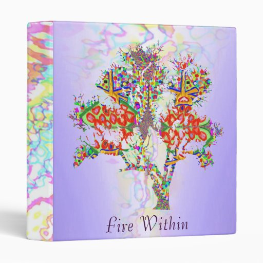FIRE WITHIN -  to Lead and Inspire 3 Ring Binder