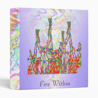 FIRE WITHIN -  to Lead and Inspire Vinyl Binders