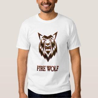 FIRE WOLF (11), FIRE WOLF (39) T SHIRTS