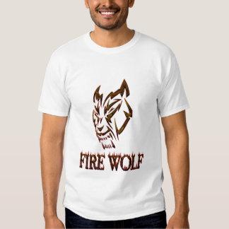 FIRE WOLF (9), FIRE WOLF (39) TSHIRT