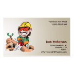 Fire Wood Business Card Template